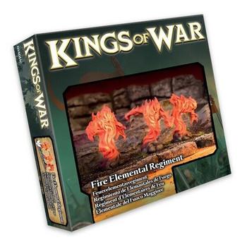 Kings of War Fire Elemental Regiment