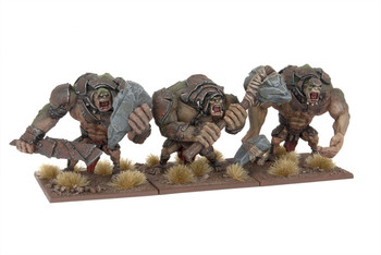 Kings of War Troll Regiment - Out of Box