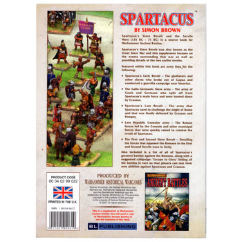 Warhammer Historical: Spartacus - Pre-owned