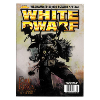 White Dwarf Issue 272 September 2002 - Pre-owned