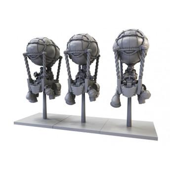 Kings of War Halfling Aeronauts Regiment - Preorder