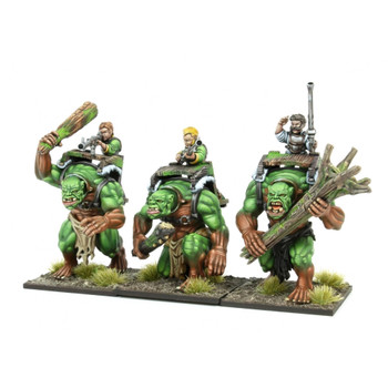 Kings of War Halfling Forest Troll Gunners Regiment - Preorder