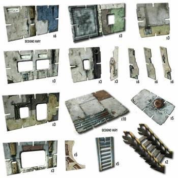 Battle Systems Wasteland Colony - Urban Apocalypse Terrain