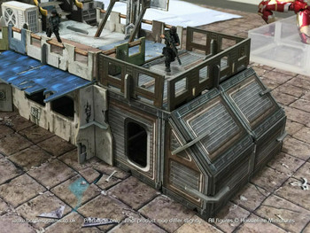 Battle Systems Urban Apocalypse Terrain Shanty Accessories