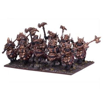 Kings of War Abyssal Dwarfs Halfbreed Regiment