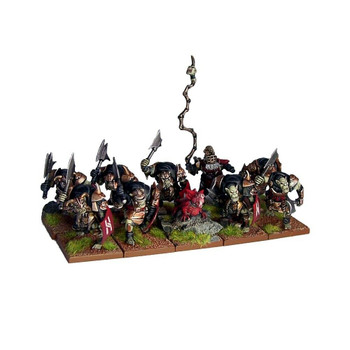 Kings of War Abyssal Dwarfs Slave Orcs Troop