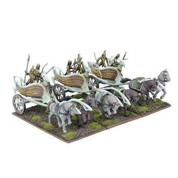 Kings of War Elves War Chariots Regiment
