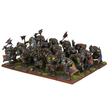 Kings of War Orcs Ax Regiment