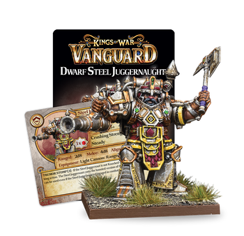 Kings of War: Vanguard Dwarfs Steel Juggernaut