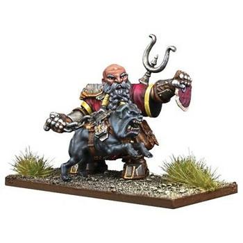 Kings of War: Vanguard Dwarfs Mastiff Packmaster