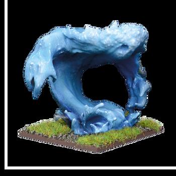 Kings of War: Vanguard Trident Realm Water Elemental