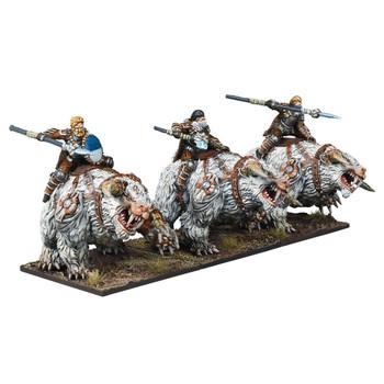 Kings of War Northern Alliance / Varangur Frost Fang Cavalry Regiment