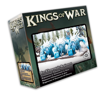 Kings of War Northern Alliance Ice Elemental Regiment