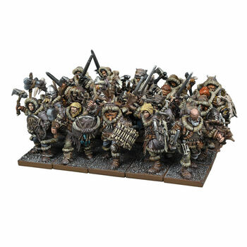 Kings of War Northern Alliance / Varangur Clansmen Regiment