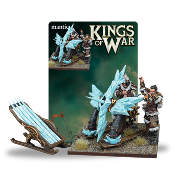 Kings of War Northern Alliance Ice Kin Bolt Thrower