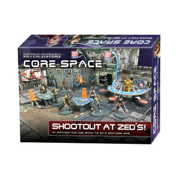 Battle Systems Core Space Shootout at Zed's Expansion