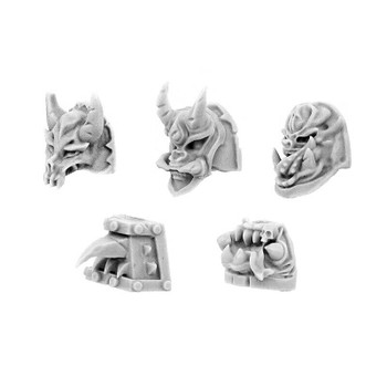 Wargame Exclusive Chaos Change & Intrigue Shoulder Pads