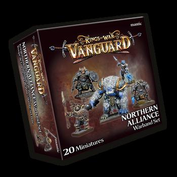 Kings of War: Vanguard Northern Alliance Warband Set 2020
