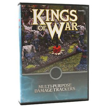 OOP - Kings of War Wound Trackers
