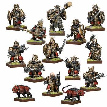 Kings of War: Vanguard Abyssal Dwarfs Warband Set