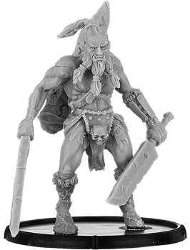 Mierce Darklands Albainn Beglo, Oghurithne Warrior