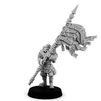 Wargame Exclusive Imperial Soldiers Dead Dog w/ Standard