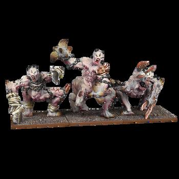 Kings of War Abyssal Dwarfs Grotesques Regiment