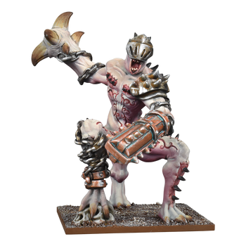 Kings of War Abyssal Dwarfs Grotesque Champion
