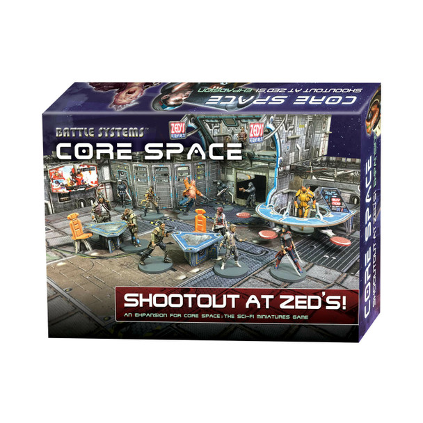 Battle Systems Core Space Shootout at Zed's Expansion - Backorder