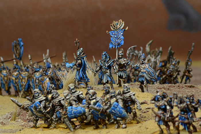 Kings of War: Vanguard Empire of Dust Warband