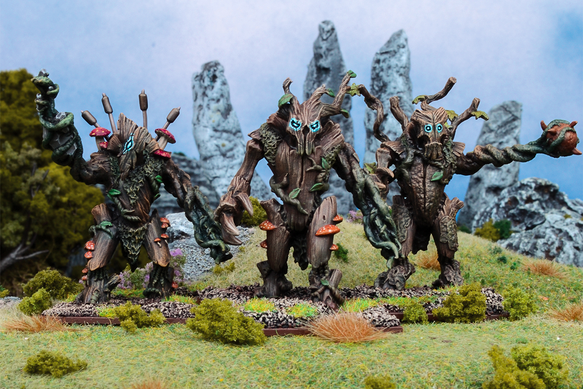 Kings of War: Vanguard Forces of Nature Warband