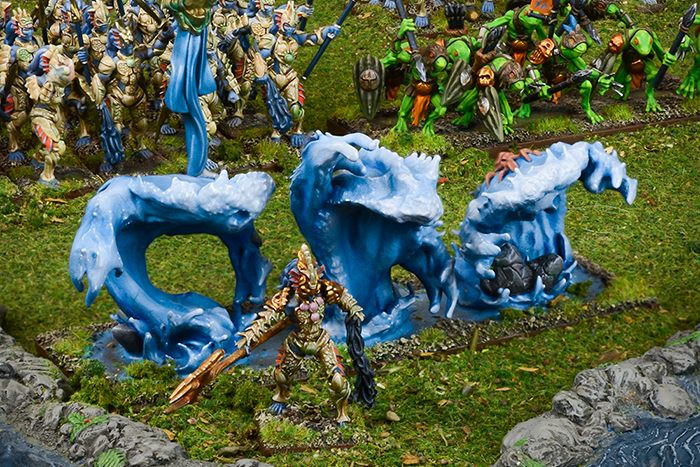 Kings of War: Vanguard Trident Realm Warband