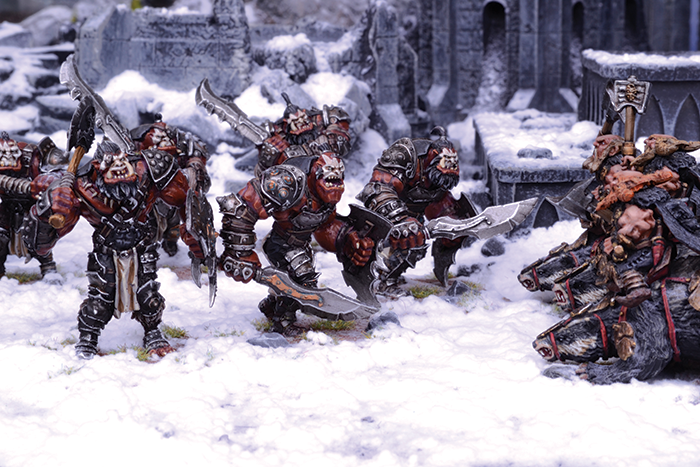 Kings of War: Vanguard Ogres Warband