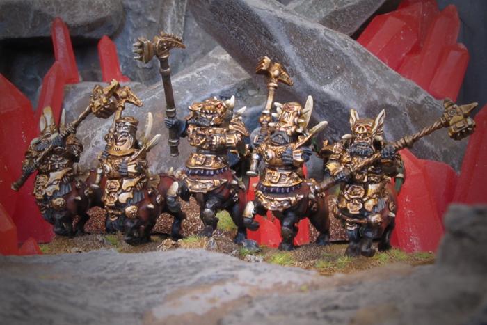 Kings of War: Vanguard Abyssal Dwarf Warband