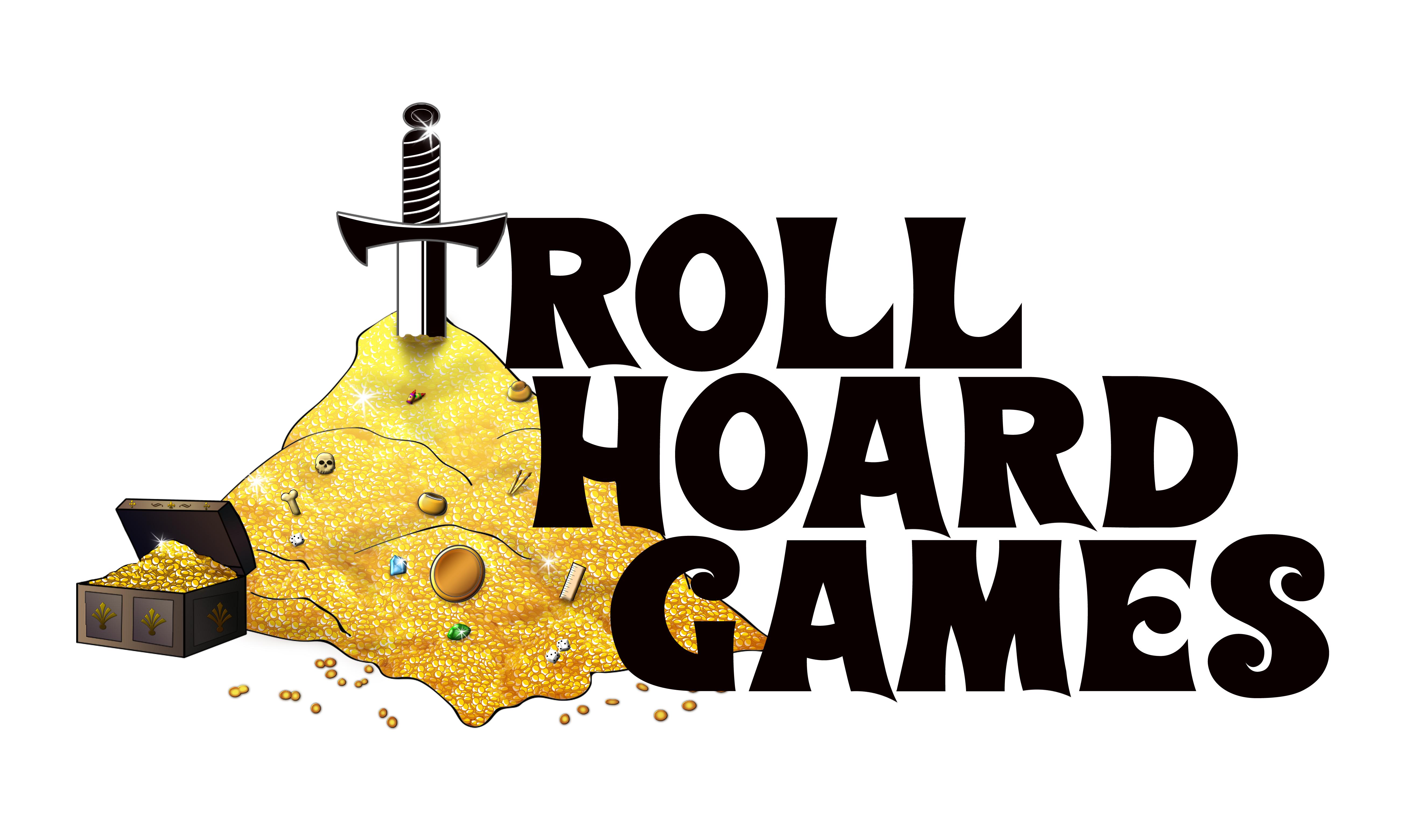Troll Hoard Games Logo