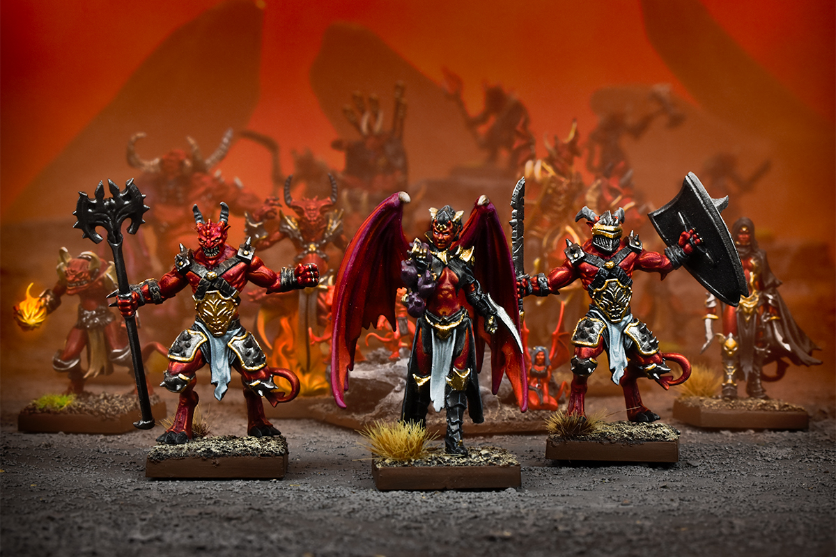 Kings of War: Vanguard Abyssal Warband