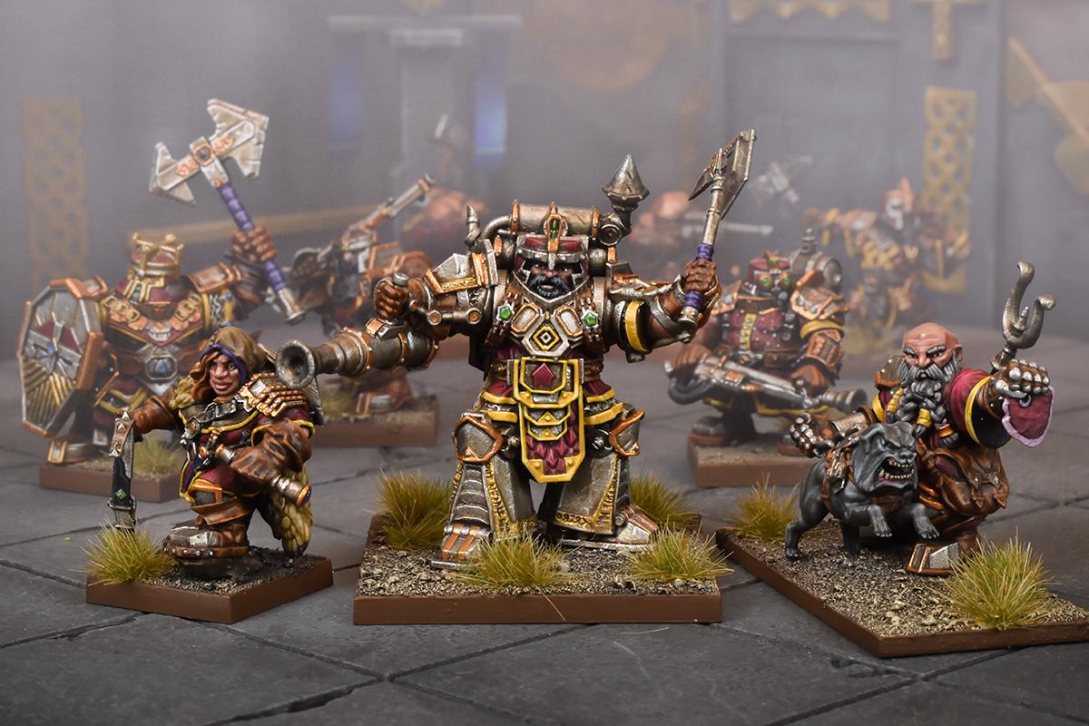 Kings of War: Vanguard Dwarf Warband