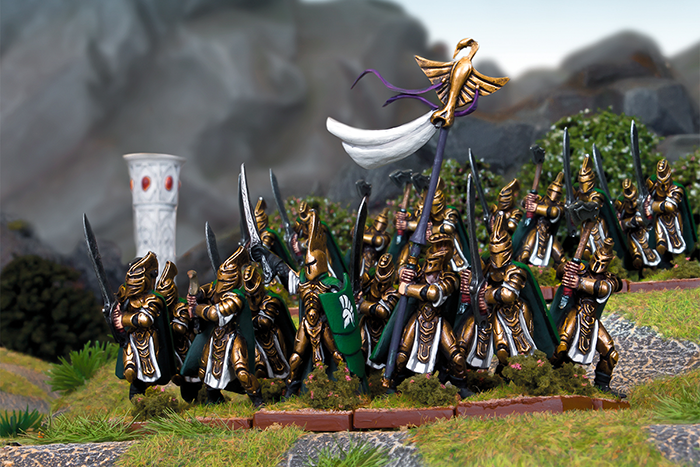 Kings of War: Vanguard Elf Warband