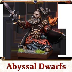 Kings of War Vanguard Abyssal Dwarfs Miniatures