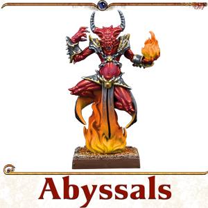 Kings of War Vanguard Abyssal Miniatures