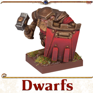 Kings of War Vanguard Dwarf Miniatures