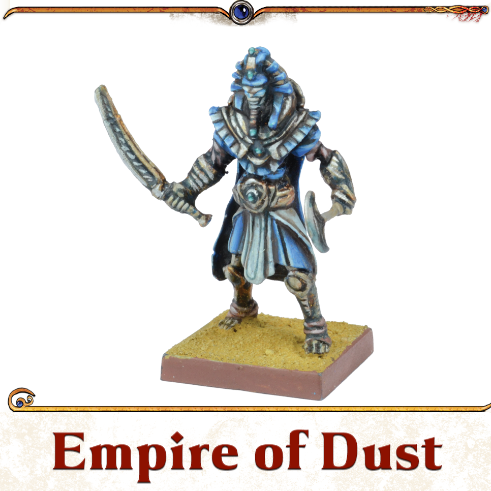 Kings of War Vanguard Empire of Dust Miniatures