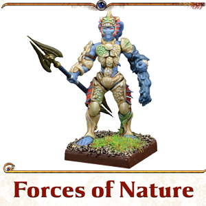 Kings of War Vanguard Forces of Nature Miniatures