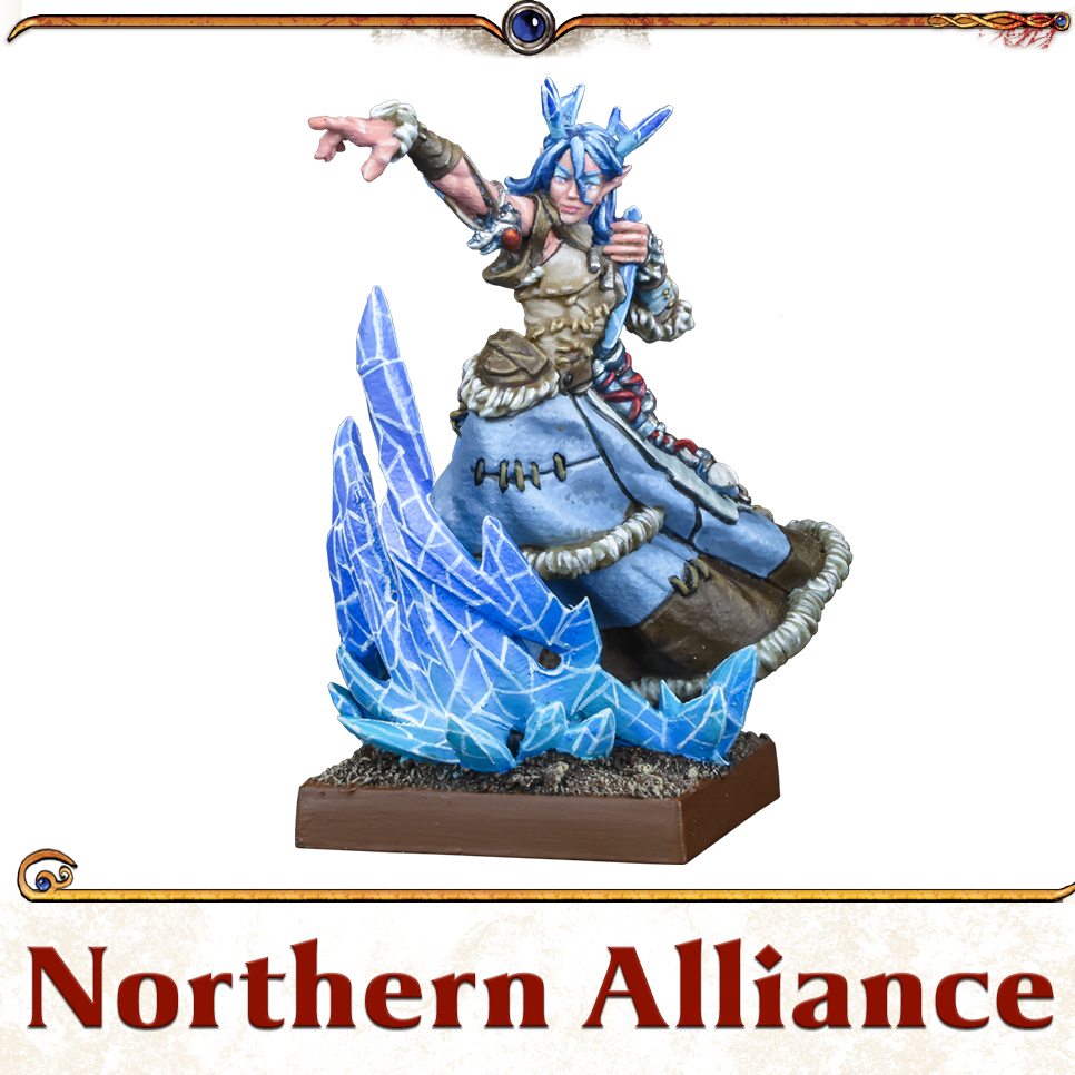 Kings of War Vanguard Northern Alliance Miniatures