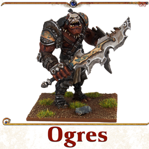 Kings of War Vanguard Ogres Miniatures