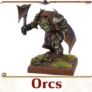 Kings of War Vanguard Orcs Miniatures
