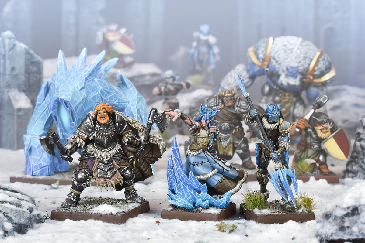 Kings of War Vanguard Northern Alliance Warband