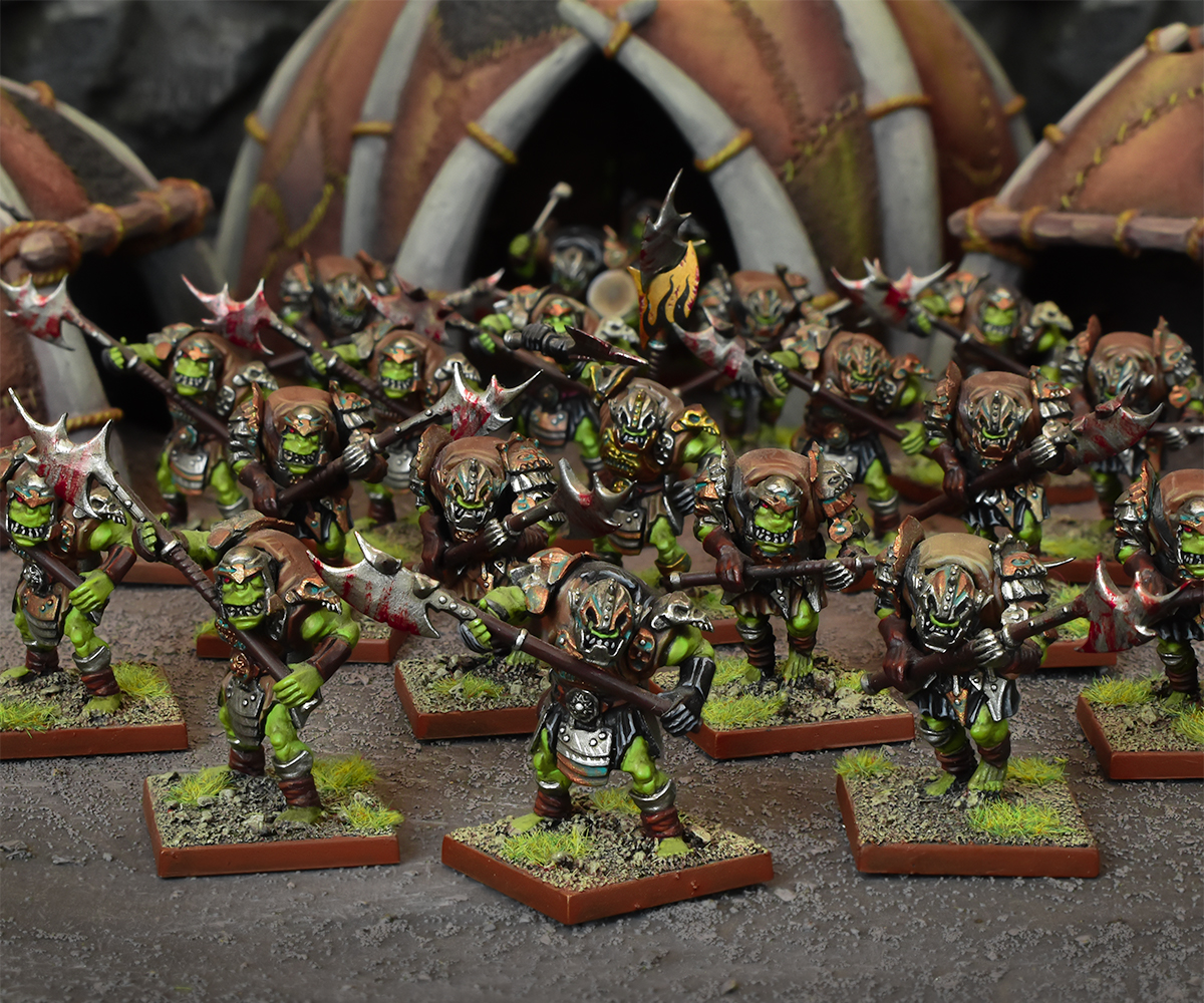 Kings of War: Vanguard Orcs Warband