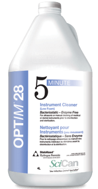 Optim 28 Ultrasonic Instrument Cleaning Solution 4L