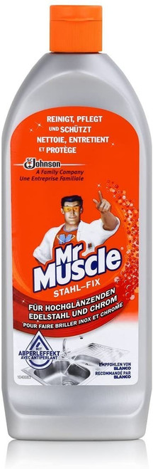 Bravo Cleaner Mr Muscle Stahl-Fix Classic 200ml